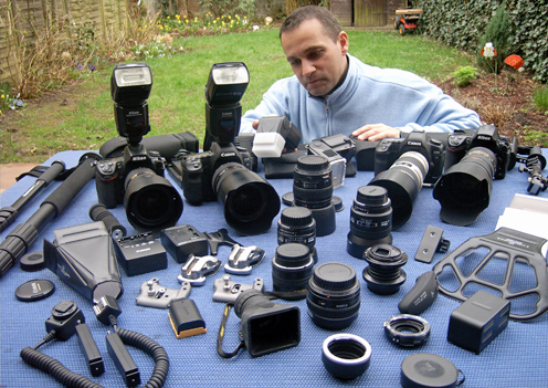 Ultimativer Cameratests Canon vs. Nikon