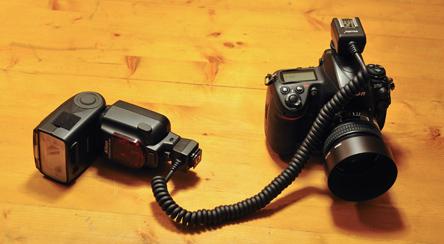Sb900 mit TTL Kabel an der D700