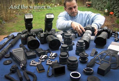 Der Testsieger ist Canon
