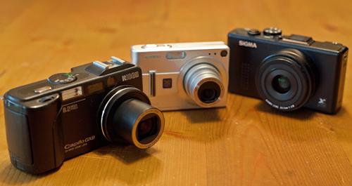Compactcamera Test Sony Samsung Casio Ricoh Sigma Canon Fuji