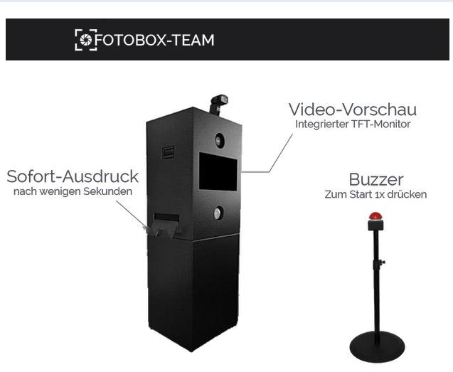 Mobile Fotobox mieten
